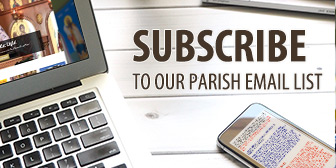 Join our parish email list